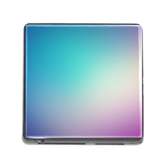 Background Blurry Template Pattern Memory Card Reader (Square)