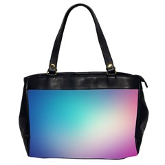 Background Blurry Template Pattern Office Handbags (2 Sides)