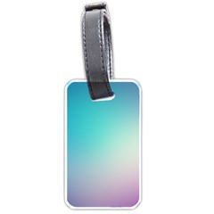 Background Blurry Template Pattern Luggage Tags (One Side)