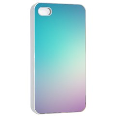 Background Blurry Template Pattern Apple iPhone 4/4s Seamless Case (White)