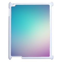 Background Blurry Template Pattern Apple iPad 2 Case (White)