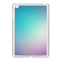 Background Blurry Template Pattern Apple iPad Mini Case (White)