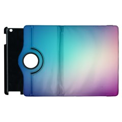 Background Blurry Template Pattern Apple iPad 3/4 Flip 360 Case
