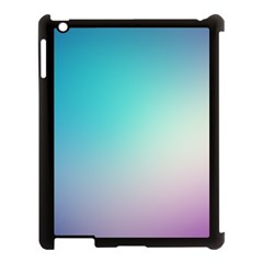 Background Blurry Template Pattern Apple iPad 3/4 Case (Black)