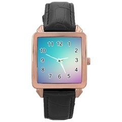 Background Blurry Template Pattern Rose Gold Leather Watch