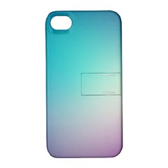 Background Blurry Template Pattern Apple iPhone 4/4S Hardshell Case with Stand