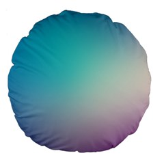 Background Blurry Template Pattern Large 18  Premium Flano Round Cushions