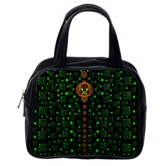 Tulips In The Night Of Stars Classic Handbags (one Side)