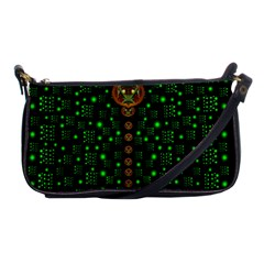 Tulips In The Night Of Stars Shoulder Clutch Bags