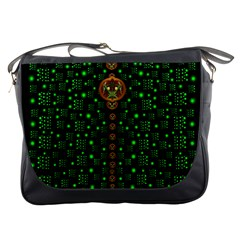 Tulips In The Night Of Stars Messenger Bags