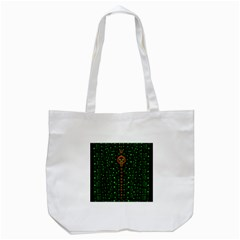 Tulips In The Night Of Stars Tote Bag (White)