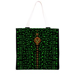 Tulips In The Night Of Stars Grocery Light Tote Bag
