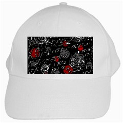 Red mind White Cap