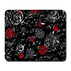 Red mind Large Mousepads