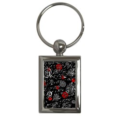 Red mind Key Chains (Rectangle)