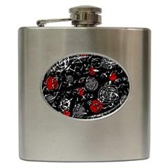 Red mind Hip Flask (6 oz)