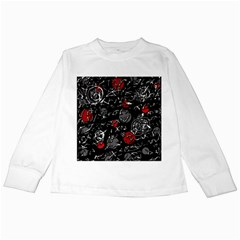Red mind Kids Long Sleeve T-Shirts