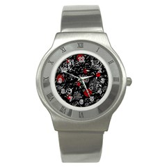 Red mind Stainless Steel Watch