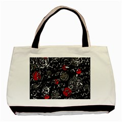 Red mind Basic Tote Bag (Two Sides)