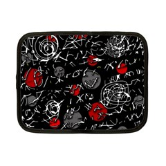 Red mind Netbook Case (Small)