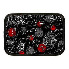 Red mind Netbook Case (Medium)