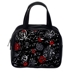 Red mind Classic Handbags (One Side)