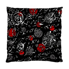 Red mind Standard Cushion Case (One Side)