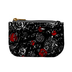 Red mind Mini Coin Purses