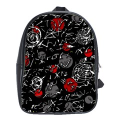 Red mind School Bags(Large)