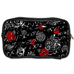 Red mind Toiletries Bags 2-Side