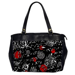 Red mind Office Handbags (2 Sides)