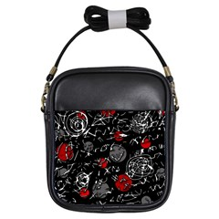 Red mind Girls Sling Bags