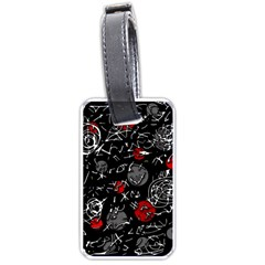 Red mind Luggage Tags (One Side)