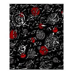 Red mind Shower Curtain 60  x 72  (Medium)