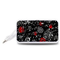 Red mind Portable Speaker (White)