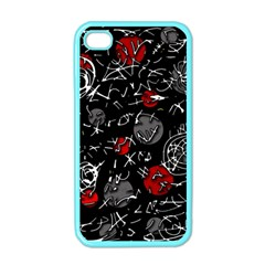 Red mind Apple iPhone 4 Case (Color)