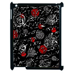 Red mind Apple iPad 2 Case (Black)