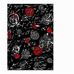 Red mind Small Garden Flag (Two Sides)