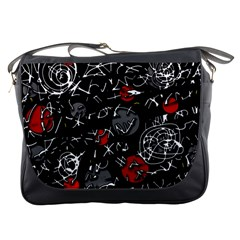 Red mind Messenger Bags