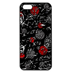 Red mind Apple iPhone 5 Seamless Case (Black)
