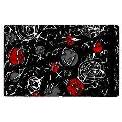Red mind Apple iPad 3/4 Flip Case