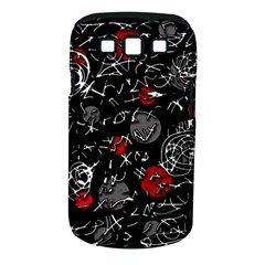 Red mind Samsung Galaxy S III Classic Hardshell Case (PC+Silicone)