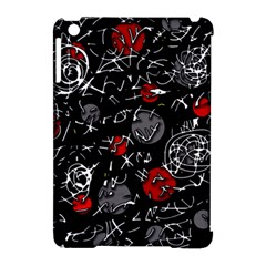 Red mind Apple iPad Mini Hardshell Case (Compatible with Smart Cover)