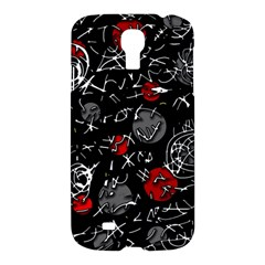 Red mind Samsung Galaxy S4 I9500/I9505 Hardshell Case