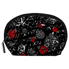 Red mind Accessory Pouches (Large)