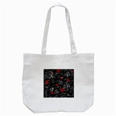Red mind Tote Bag (White)