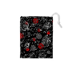 Red mind Drawstring Pouches (Small)