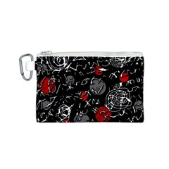 Red mind Canvas Cosmetic Bag (S)