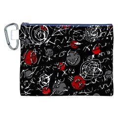 Red mind Canvas Cosmetic Bag (XXL)