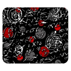 Red mind Double Sided Flano Blanket (Small)
